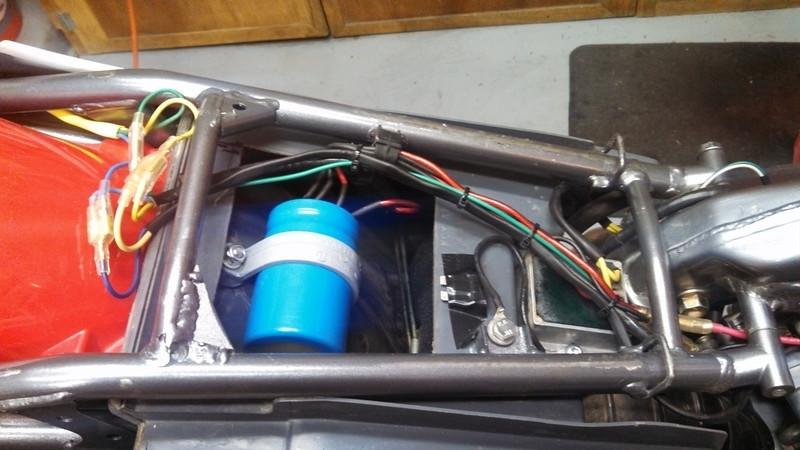 Xr400 Wiring Diagram Indicators : New honda xr xr xr xr rear taillight complete tail